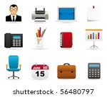 business icons | Shutterstock .eps vector #56480797