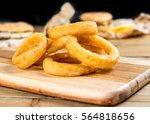fast food homemade crunchy... | Shutterstock . vector #564818656