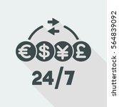 steady money transfer service   ...   Shutterstock .eps vector #564839092