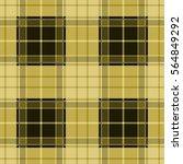 seamless yellow tartan plaid... | Shutterstock .eps vector #564849292