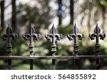 Fence Topper  Fleur De Luis 1