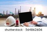 engineering industry concept in ... | Shutterstock . vector #564862606