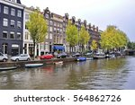 The Canal Of Amsterdam ...