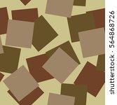 seamless vector camouflage... | Shutterstock .eps vector #564868726
