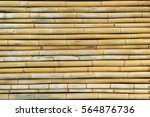 bamboo fence background | Shutterstock . vector #564876736