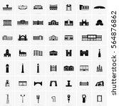 building symbols | Shutterstock .eps vector #564876862