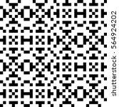 vector seamless pattern.... | Shutterstock .eps vector #564924202