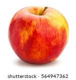 red apple isolated | Shutterstock . vector #564947362