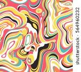 vector seamless pattern.... | Shutterstock .eps vector #564960232