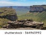 view from morro do pai inacio... | Shutterstock . vector #564965992
