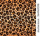 leopard pattern texture...   Shutterstock .eps vector #564969598