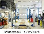 empty car repair station  | Shutterstock . vector #564994576