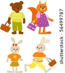 animals | Shutterstock .eps vector #56499787