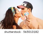 summer lifestyle close up...   Shutterstock . vector #565013182