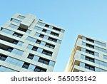 modern apartment building | Shutterstock . vector #565053142