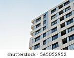 modern apartment building | Shutterstock . vector #565053952