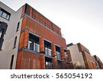 modern apartment building | Shutterstock . vector #565054192