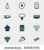 vector illustration of 12...   Shutterstock .eps vector #565057492