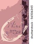 wine label | Shutterstock .eps vector #56506345