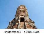 stairs to pagoda thailand...   Shutterstock . vector #565087606