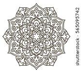 mandala. ethnic decorative...   Shutterstock .eps vector #565095742