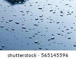 Texture Background. Raindrops...