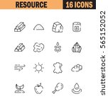 resource icon. single high... | Shutterstock .eps vector #565152052