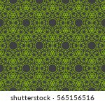 geometric lace seamless pattern.... | Shutterstock .eps vector #565156516