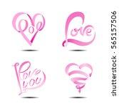 vector illustration set of... | Shutterstock .eps vector #565157506