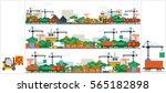 set stock vector illustration... | Shutterstock .eps vector #565182898