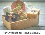 beautiful  fragrant handmade...   Shutterstock . vector #565188682