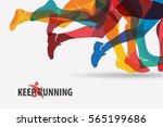 Running People Set Of...