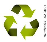 vector recycle symbol | Shutterstock .eps vector #56523904
