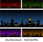 Vector City Backgrounds