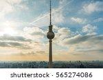 Famous Berlin Fernsehturm Tv...