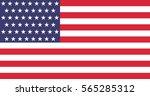vector usa 51 star flag | Shutterstock .eps vector #565285312