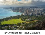 beautiful aerial view of... | Shutterstock . vector #565288396