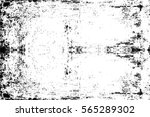 grunge black and white urban... | Shutterstock .eps vector #565289302