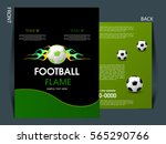 soccer football tournament... | Shutterstock .eps vector #565290766