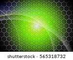 green abstract template for... | Shutterstock . vector #565318732