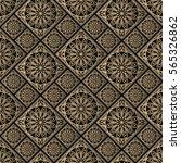 seamless pattern oriental... | Shutterstock .eps vector #565326862