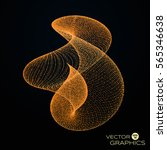 3d vector abstract organic form ...   Shutterstock .eps vector #565346638