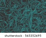 seamless pattern. topographic...   Shutterstock .eps vector #565352695