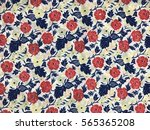the beautiful of art fabric... | Shutterstock . vector #565365208