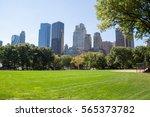 central park. new york  usa. | Shutterstock . vector #565373782