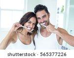 Portrait Of Happy Couple...