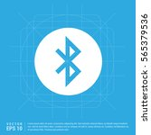 bluetooth icon | Shutterstock .eps vector #565379536