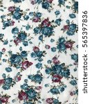 the beautiful of art fabric... | Shutterstock . vector #565397836