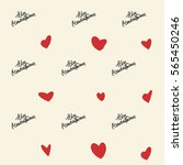 valentine's day or wedding... | Shutterstock .eps vector #565450246