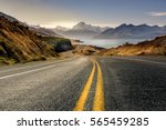 road to mountain cook along... | Shutterstock . vector #565459285